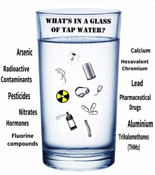 what is in tap water